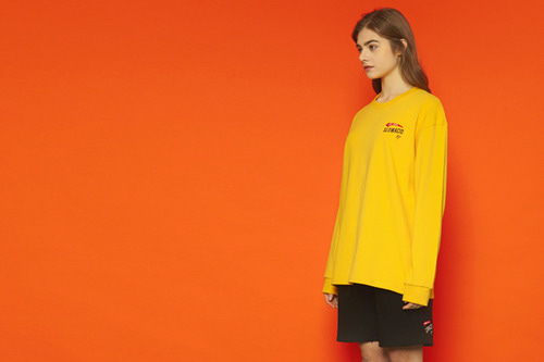 [unisex] Arrow Longsleeve T (yellow)