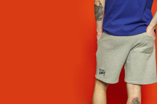 [unisex] Arrow Half Pants (grey)