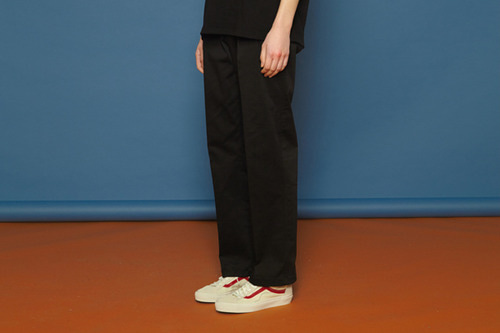 [Sold out] SS Span Cotton Pants (black)