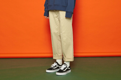 [Sold out] SS Span Cotton Pants (beige)