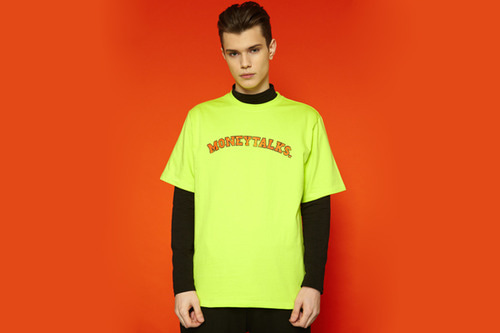 [unisex] Arc Moneytalks Short T (neon)