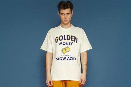 [unisex] Goldenmoney Short T (white)
