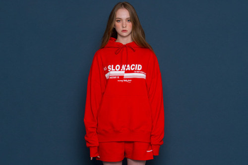[Sold out] pH5.5 Logo Hoodie (red)