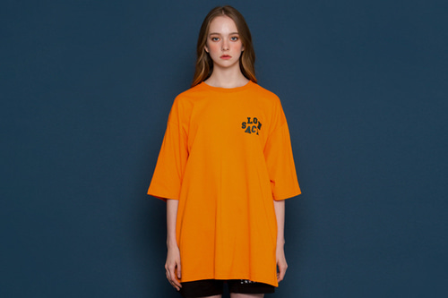 [unisex] Without I Short-T (orange)