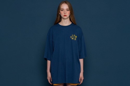 [unisex] Without I Short-T (blue)