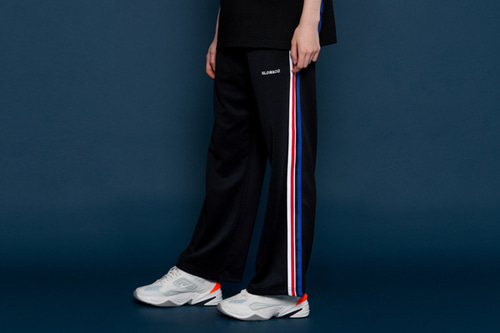 [unisex] Sideline Wide Pants (black)