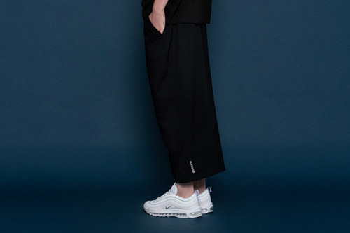 [uinsex] Wide Slacks Pants (black)