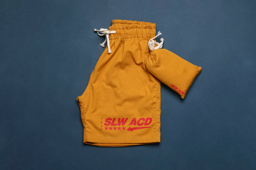 [Sold out] Shorts & Bag (yellow)