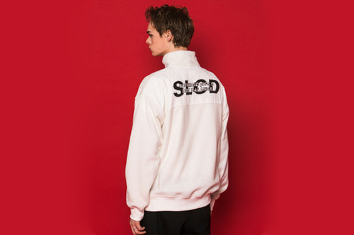 SLCD Half Zipup Fleece (WHITE)