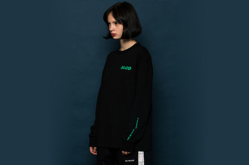 [Sold out]SLCD Long-T (BLACK)