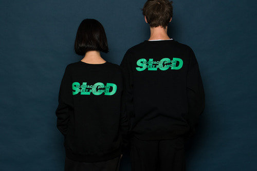 [9월28일예약배송]SLCD Sweatshirt (BLACK)