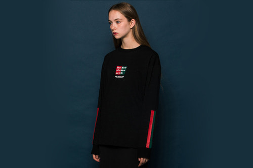 [Sold out]BNS Long-T (BLACK)
