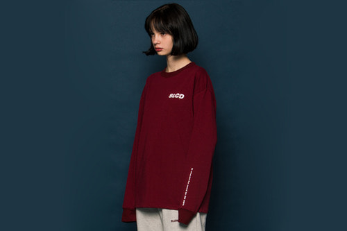 [Sold out]SLCD Long-T (BURGUNDY)