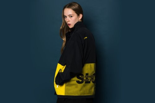 [Soldout]Net Windbreaker (YELLOW)