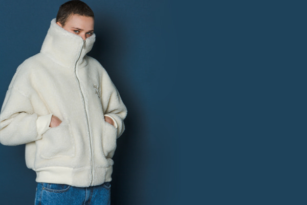 Boa Fleece Jumper (IVORY)