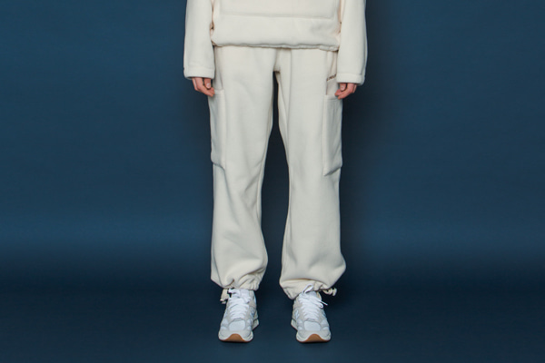 Heavy Fleece Pants (IVORY)