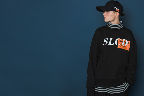Orangebox Logo Sweatshirt (BLACK)