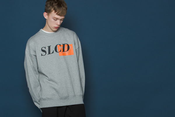 Orangebox Logo Sweatshirt (GREY)