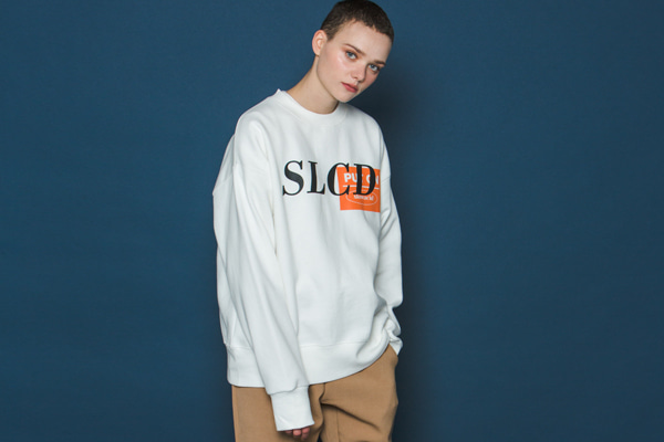Orangebox Logo Sweatshirt (WHITE)
