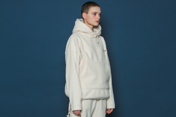 [Sold out]Heavy Fleece Hoodie (IVORY)