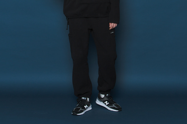 Heavy Fleece Pants (BLACK)