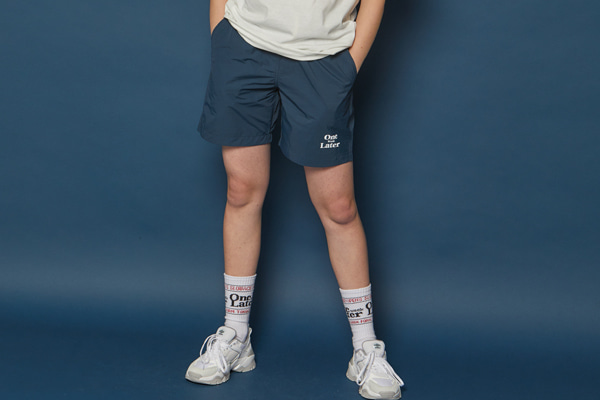 [Sold out]Jogging Short Pants (BLUE)
