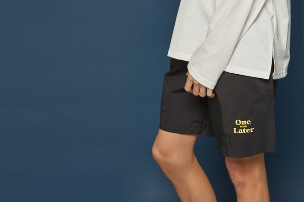 [Sold out]Jogging Short Pants (BLACK)