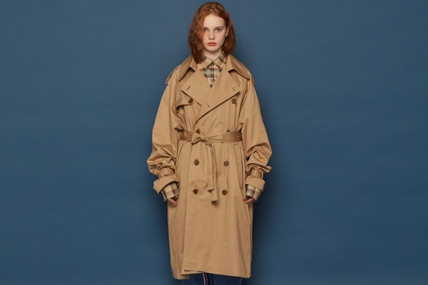 Oversized Trench Coat (BEIGE)