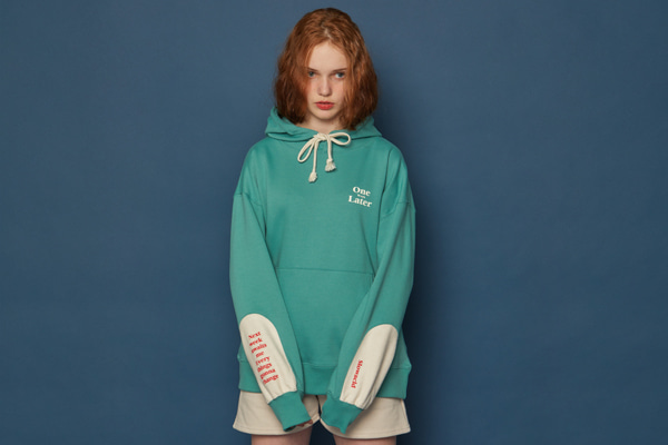 Reverse Patch Hoodie (MINT)