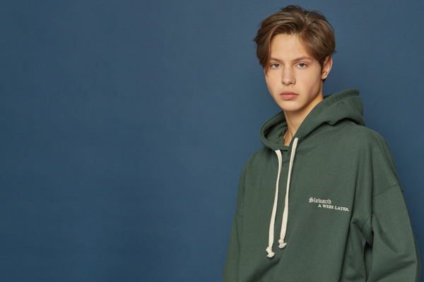 Gothictypo Hoodie (GREEN)