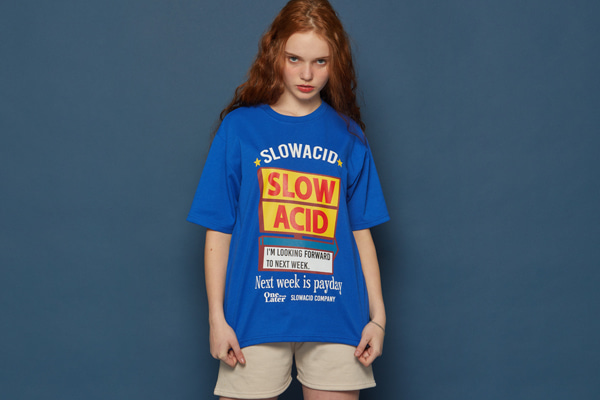 [Sold out]Fullsize Graphic Short-T (BLUE)