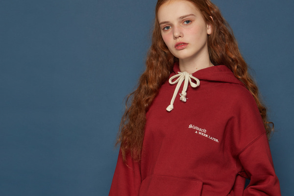 Gothictypo Hoodie (RED)