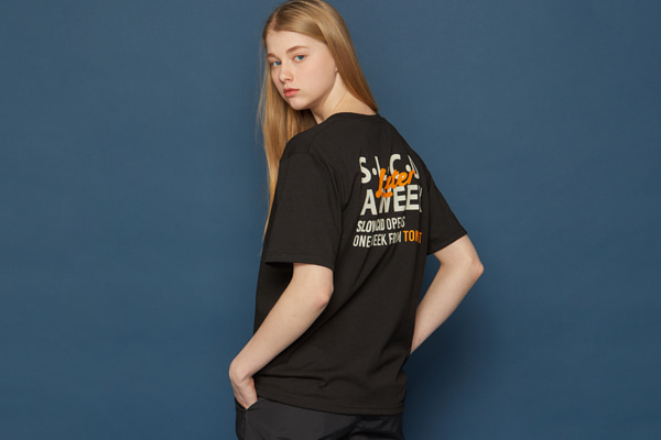 LATER Short-T (BLACK)
