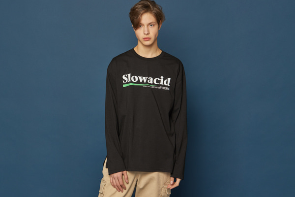 Neon Logo Long-T (BLACK)
