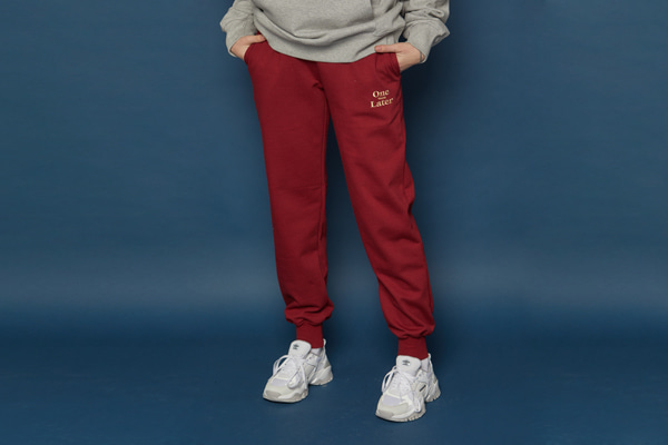 OWL Training Pants (BURGUNDY)