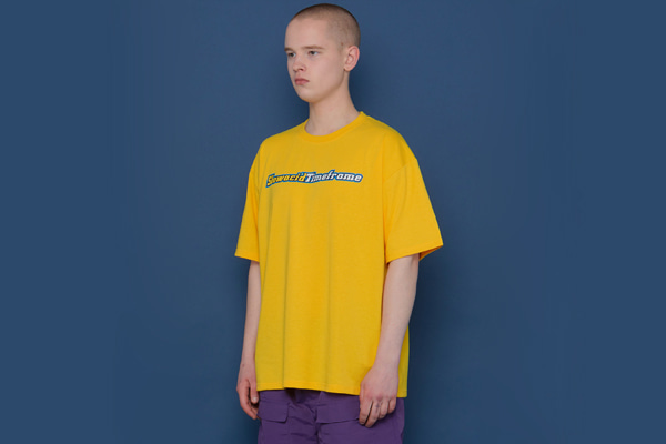 [Sold out]TIMEFRAME Short-T (YELLOW)