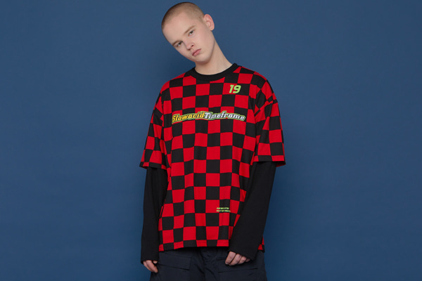 Checkerboard Short-T (RED)