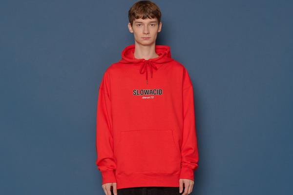 19FW Logo Hoodie (RED)
